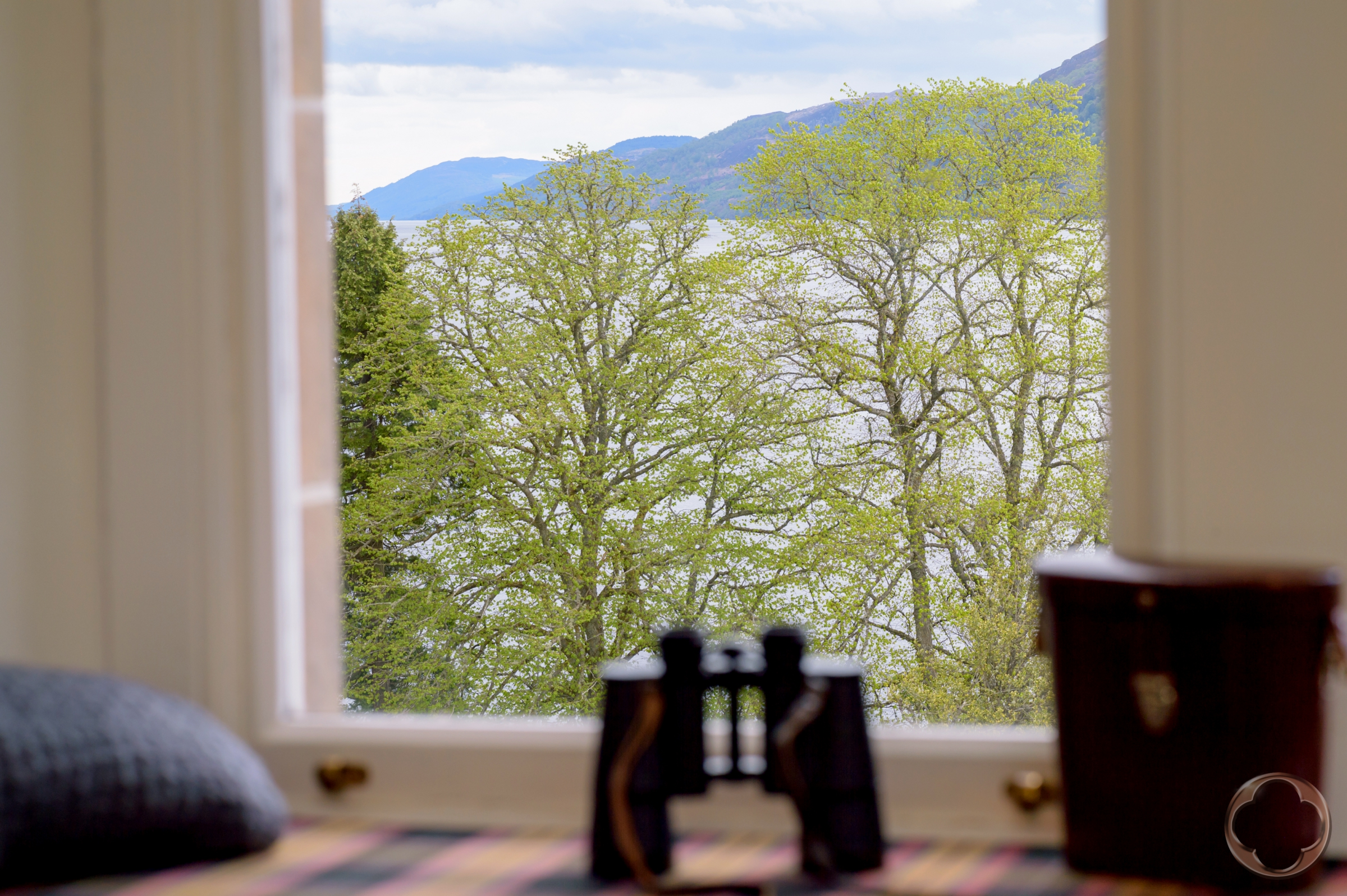 WITH VIEWS OVER LOCH NESS
