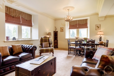 The Fraser apartment, luxury self-catered accommodation available to rent at Loch Ness with the Highland Club Direct