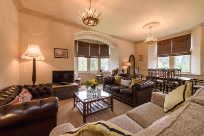 The Struan self-catered apartment available through the Highland Club Direct in Fort Augustus